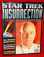 Star Trek Insurrection: Official Movie Souvenir Magazine
